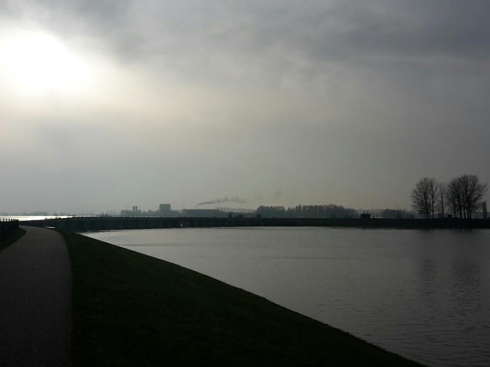 Dooi, regen en een woeste Zuidwester in Oost NL